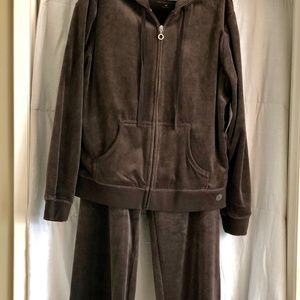 NY&CO Women's Velour Track Suit